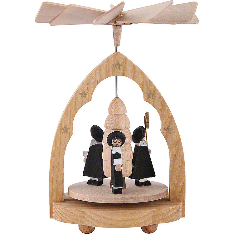 1 - Tier Thermic Pyramid Carolers  -  10cm / 4 inch