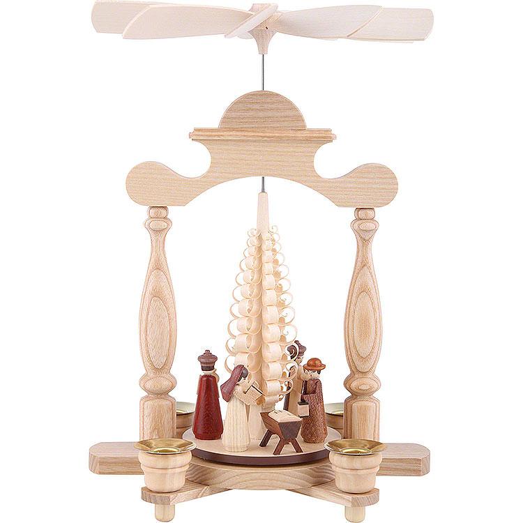 1 - stöckige Pyramide Christi Geburt  -  32cm