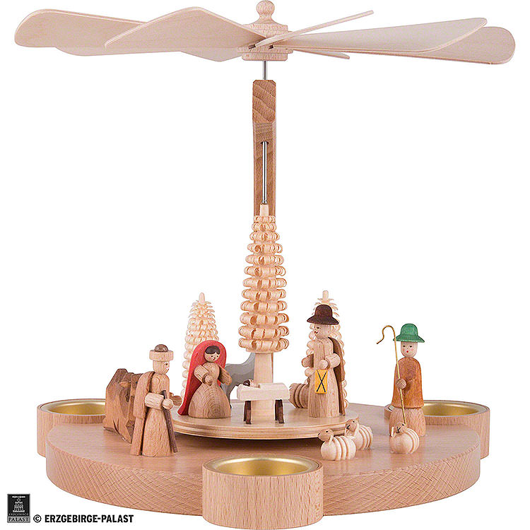 1 - stöckige Pyramide Halbbogen Christi Geburt  -  25cm