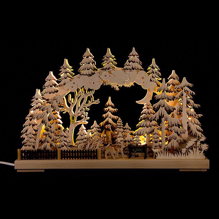 3D - Schwibbogen Naturschutzgebiet  -  43x30cm