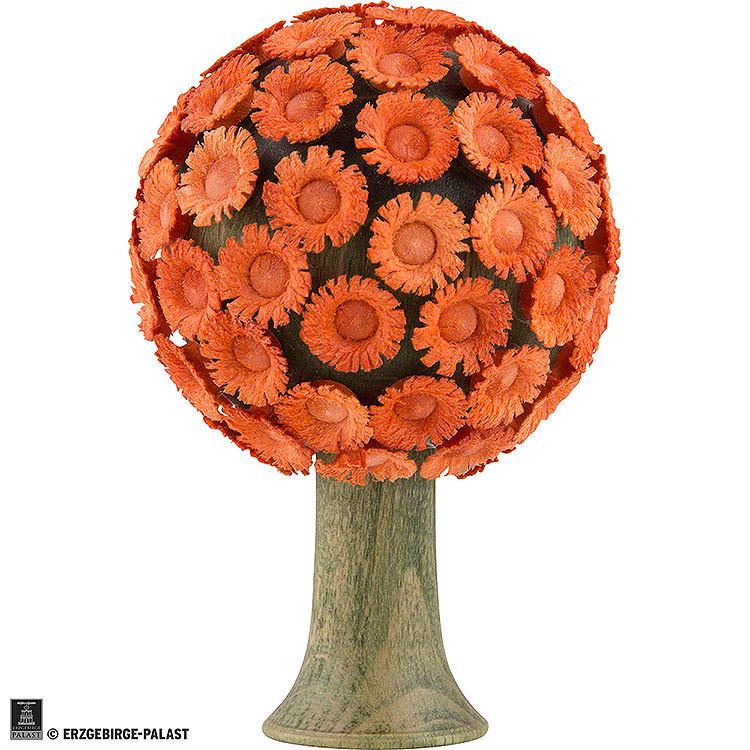 Blütenbaum orange  -  6x4cm