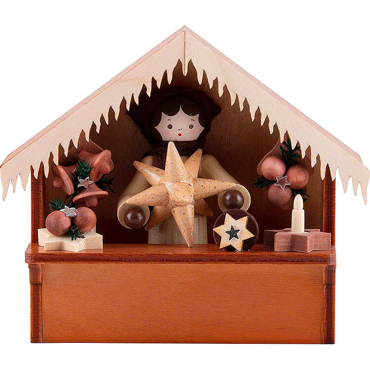 Christmas Market Stall Stars with Thiel Figurine  -  8cm / 3.1 inch