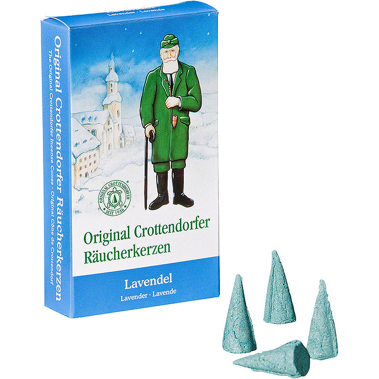 Crottendorfer Incense Cones  -  Lavender