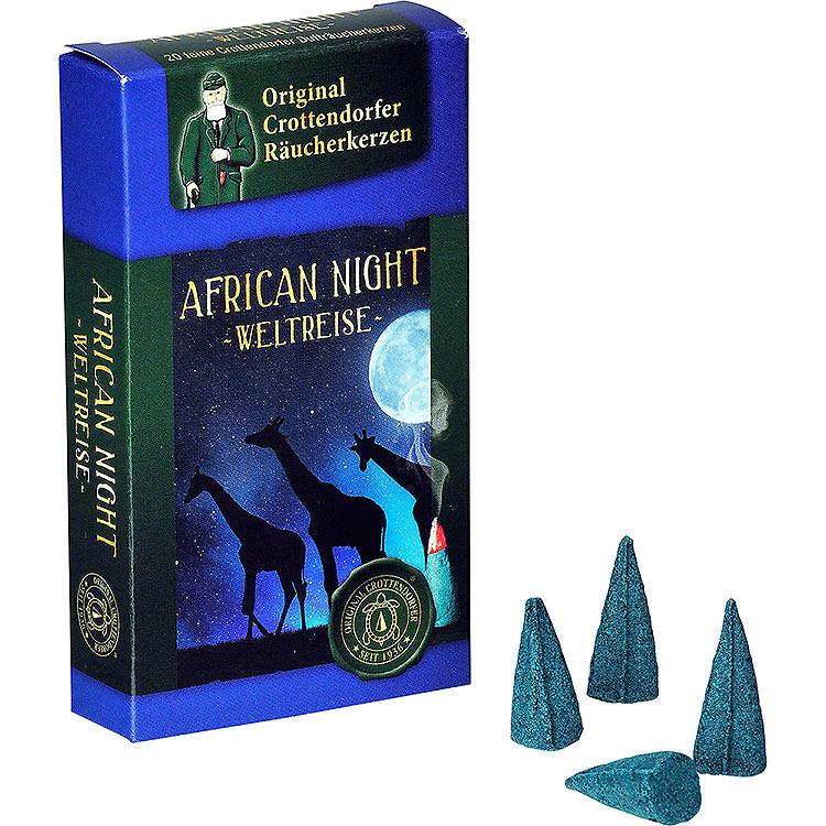Crottendorfer Räucherkerzen  -  Weltreise  -  African Night