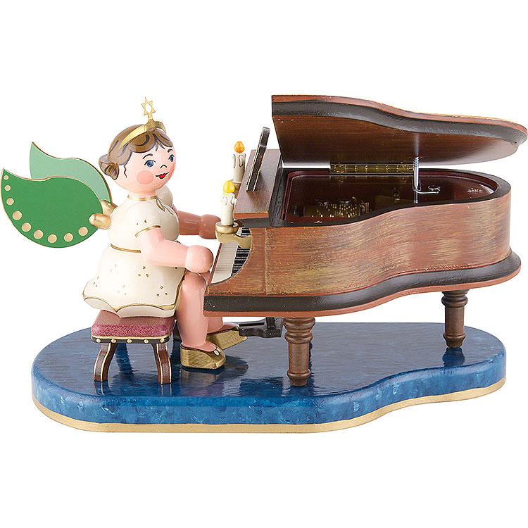 Engel Klavier mit Musikwerk  -  16cm