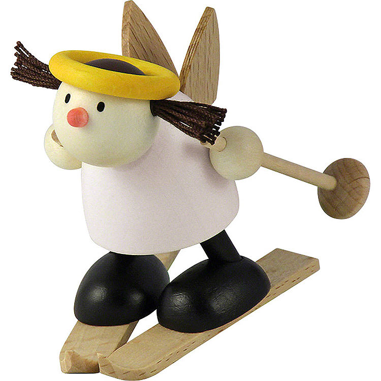 Engel Lotte auf Ski  -  Schneeflug  -  7cm