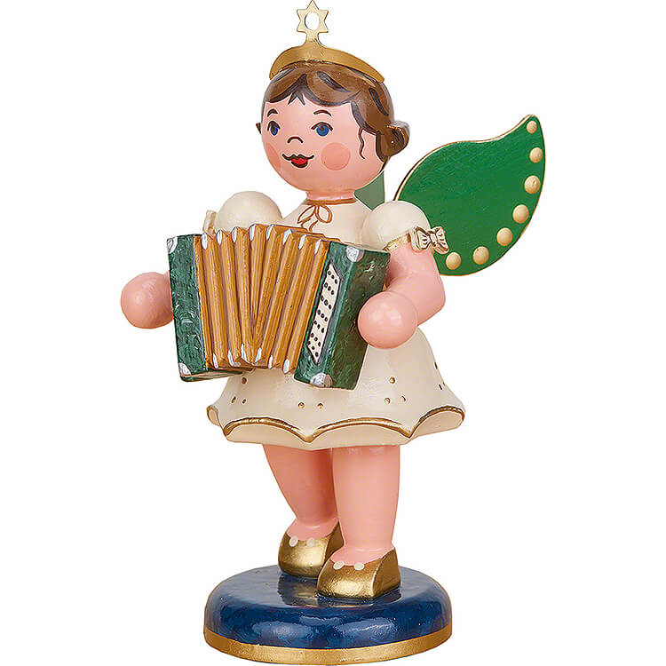 Engel mit Akkordeon  -  10cm