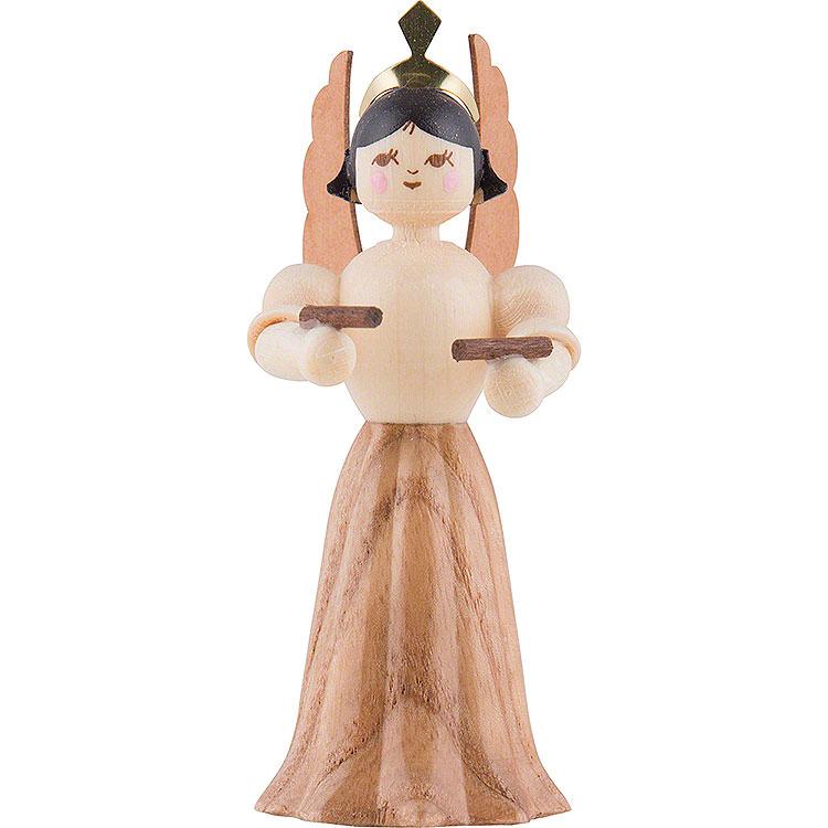 Engel mit Klanghölzern  -  7cm