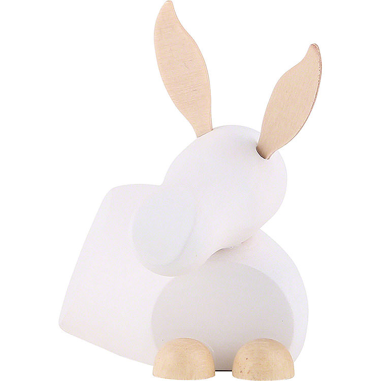 Esel weiß/natur  -  groß  -  7cm
