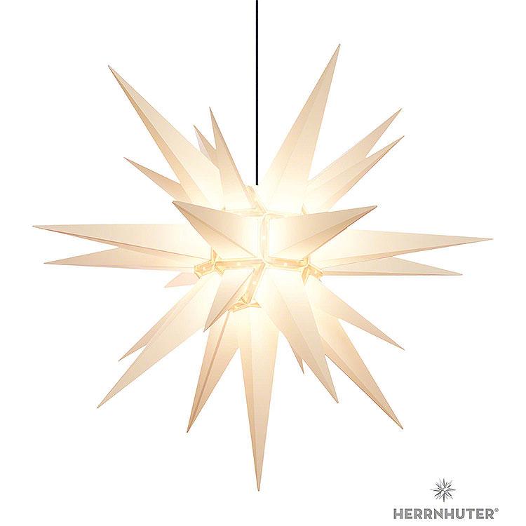 Herrnhuter Stern A13 weiss Kunststoff  -  130cm