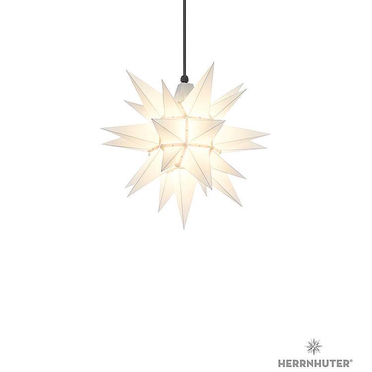 Herrnhuter Stern A4 weiss Kunststoff  -  40cm