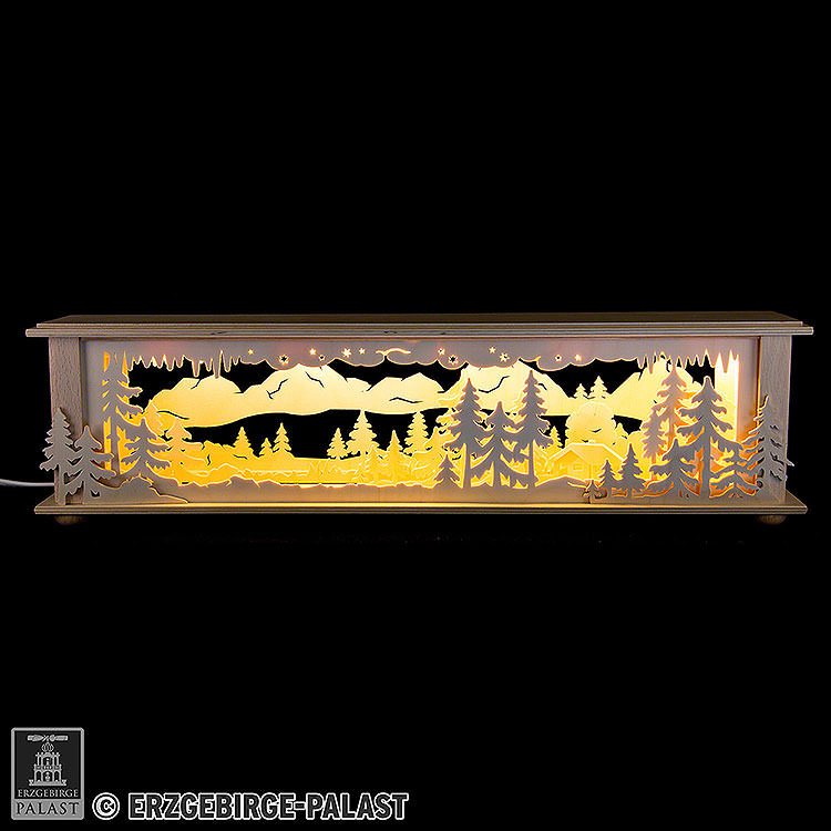 Illuminated Stand Forest for Candle Arches  -  50x12x10cm / 20x5x4 inch