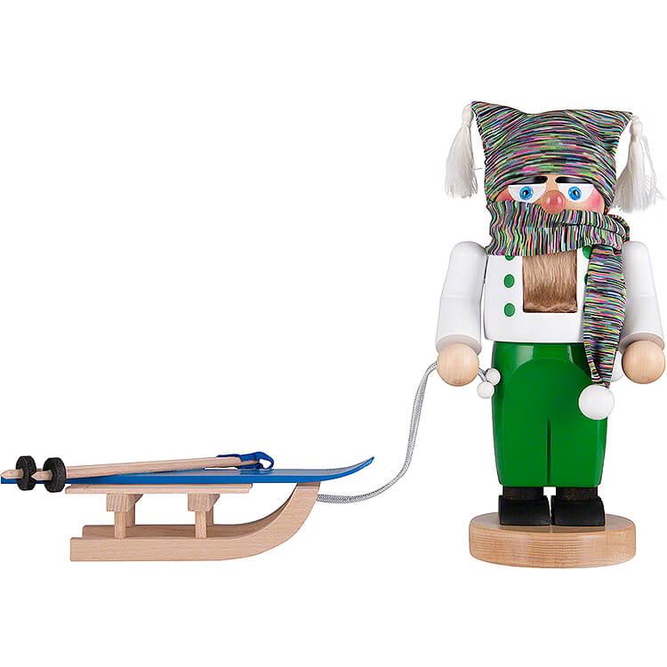 Nussknacker Chubby Skifahrer  -  27cm
