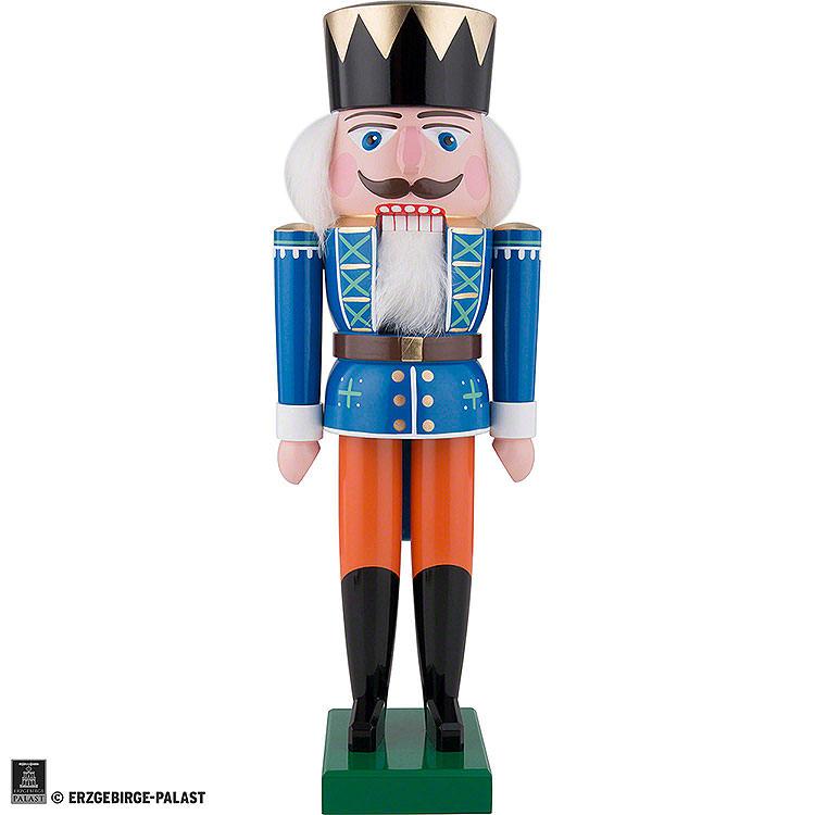 Nussknacker König, blau  -  36cm