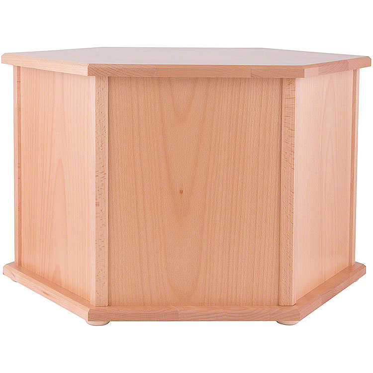 Pedestal for Pyramids Hexagonal Natural  -  36cm / 14.2 inch