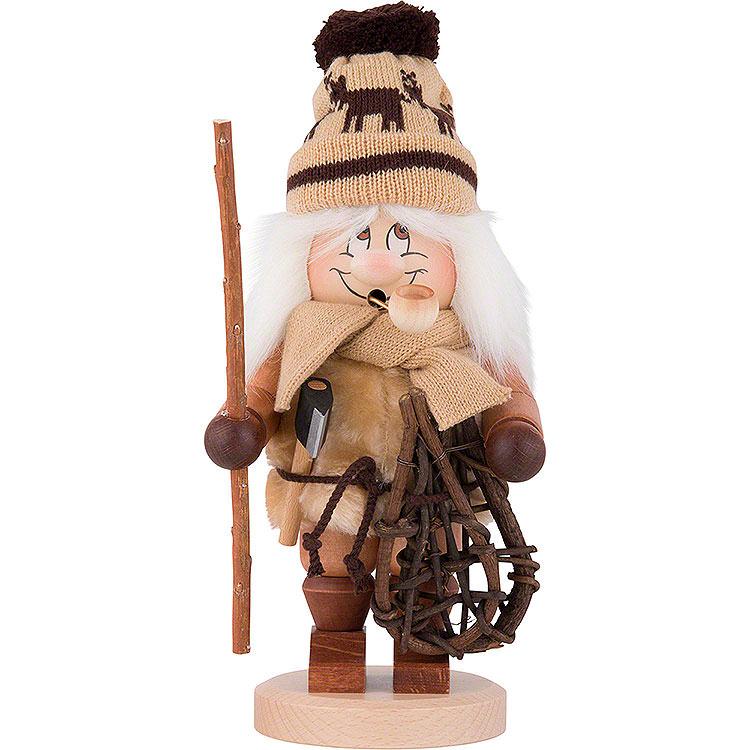 Räuchermännchen Wichtel Holzmacher  -  30,5cm