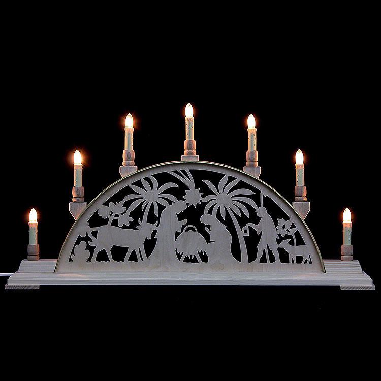Schwibbogen Christi Geburt  -  63cmx32cm