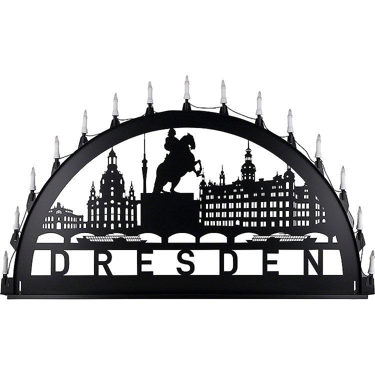 Schwibbogen für Außen Dresden  -  100 - 300cm