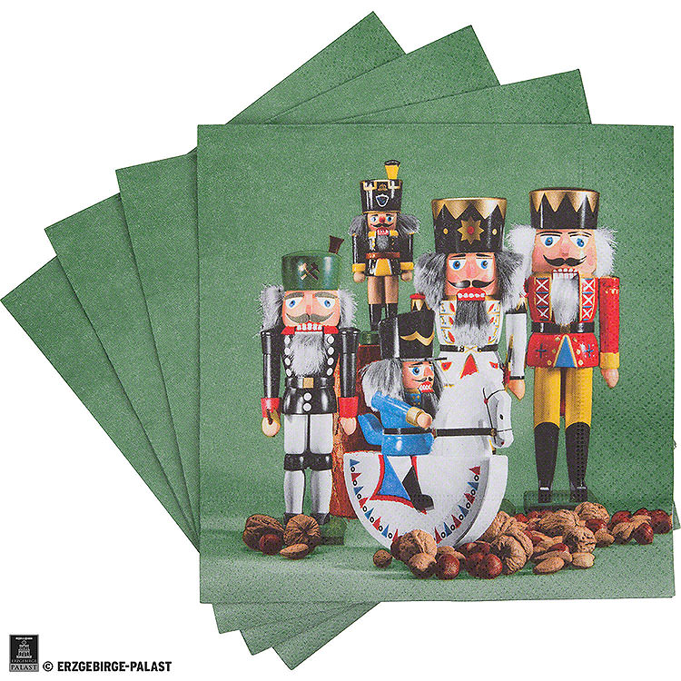 Servietten Nussknackerparade  -  20 Stück