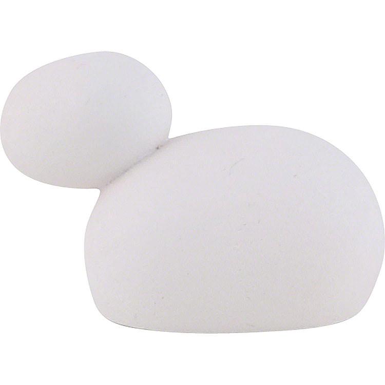 Sheep White  -  2.2cm / 0.9 inch