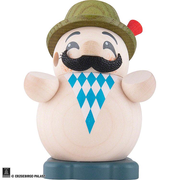 Smoker  -  Bavarian  -  Ball Figure  -  9cm / 3.5 inch