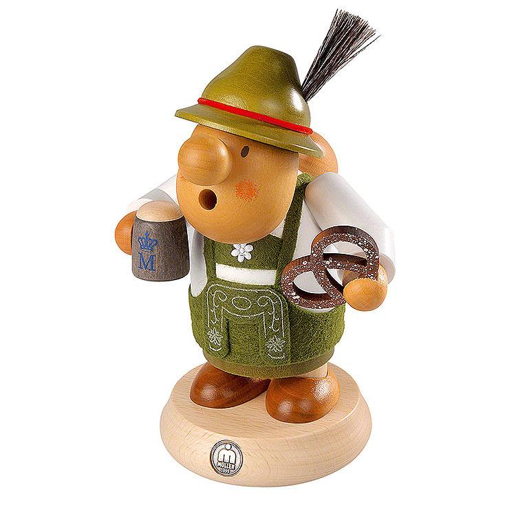 Smoker  -  Bavarian with Costume  -  16cm / 6 inch