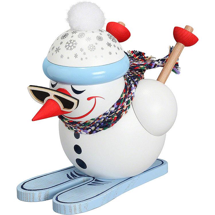 Smoker  -  Cool - Man Downhill Skier  -  Ball Figure  -  12cm / 5 inch