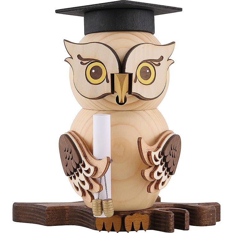 Smoker  -  Owl Bachelor  -  15cm / 5.9 inch