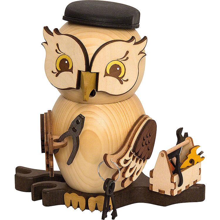 Smoker  -  Owl Mechanic  -  15cm / 5.9 inch