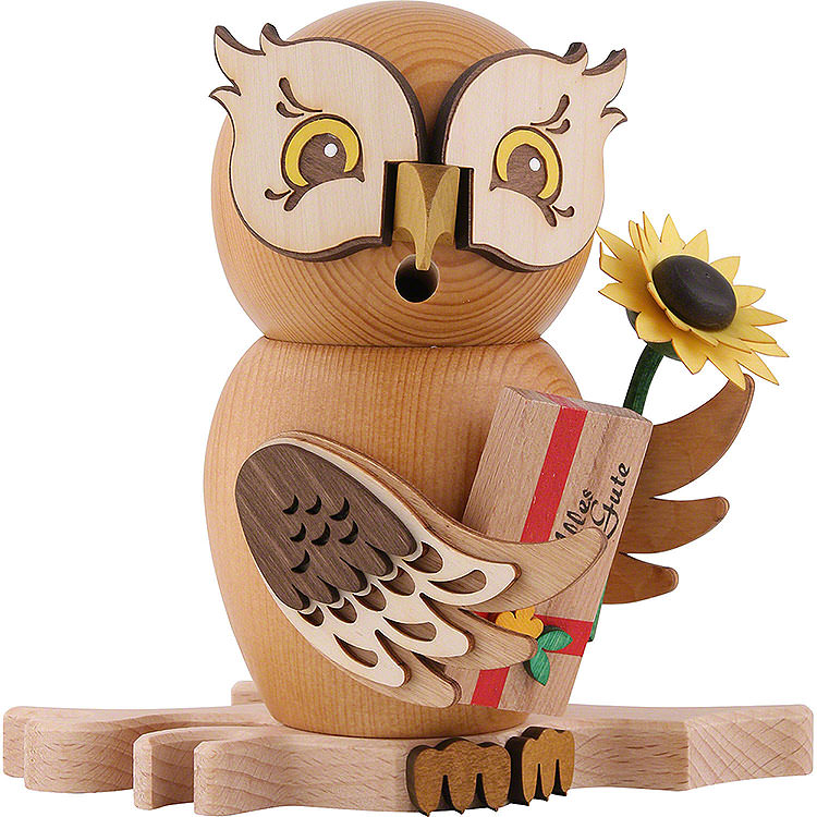 Smoker  -  Owl Well - Wisher  -  15cm / 5.9 inch