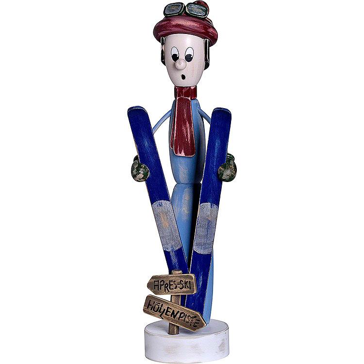 "Smoker  -  ""Shabby Chic"" Skier  -  38cm / 15 inch"