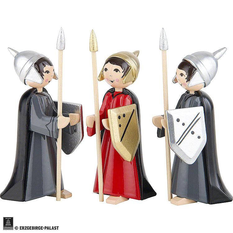Soldaten des Herodes 3 - teilig farbig  -  7cm