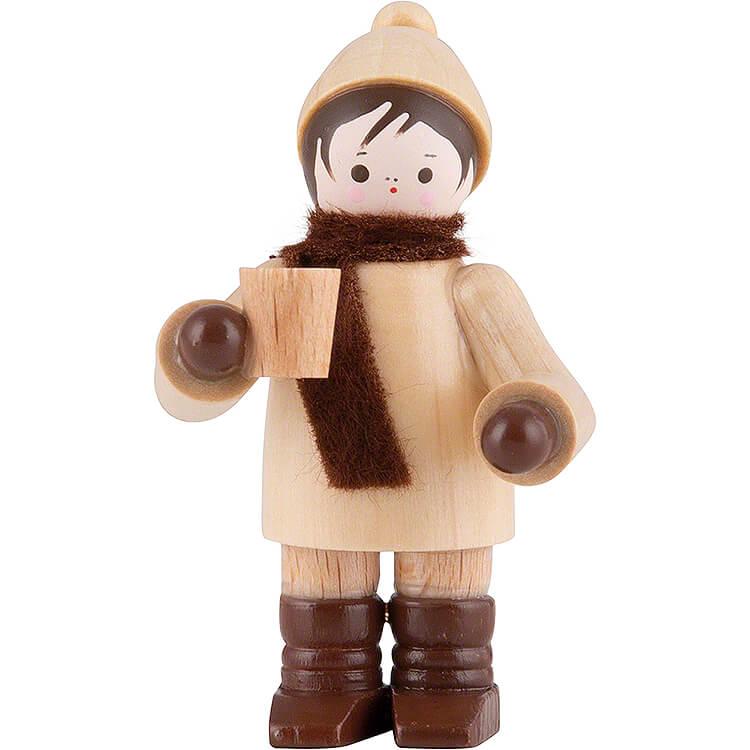 Thiel - Figur Glühweintrinker  -  natur  -  5,5cm