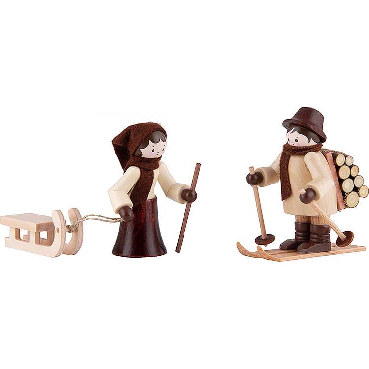 Thiel - Figur Holzleute  -  natur  -  6cm