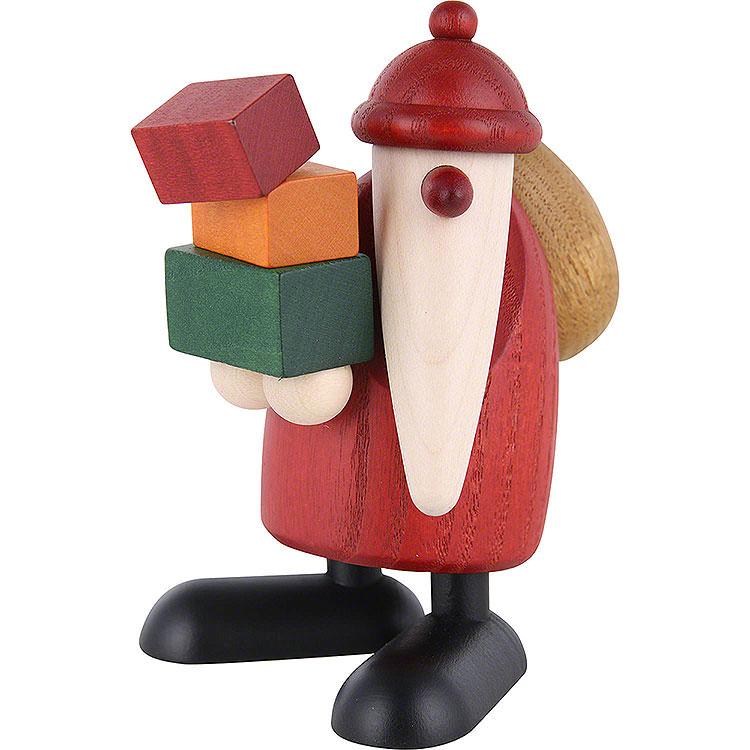 Weihnachtsmann Geschenke tragend  -  9cm