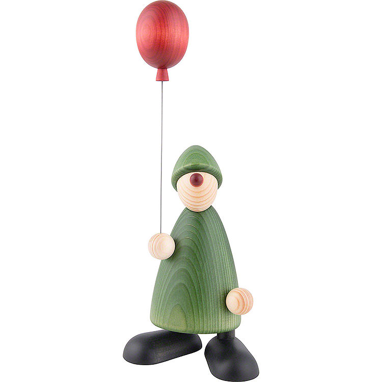 Well - Wisher Linus with Balloon  -  17cm / 6.7 inch