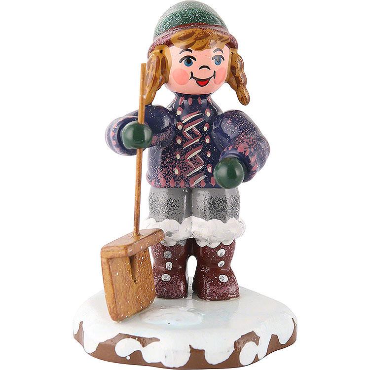 Winter Children Snow Sweeper  -  6cm / 2 inch