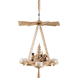 1 - Tier Ceiling Pyramid Forest People  -  30cm / 11.8 inch