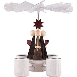 1 - Tier Pyramid  -  Caroler  -  26cm / 10.2 inch