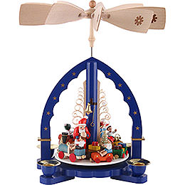 1 - Tier Pyramid  -  Christmasfun  -  27cm / 11 inch