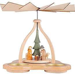1 - Tier Pyramid  -  Crib  -  14cm / 5.5 inch