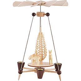 1 - Tier Pyramid  -  Deer  -  26cm / 10 inch