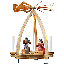 1 - Tier Pyramid  -  Nativity for Outdoor Use  -  300cm / 118 inch