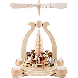1 - Tier Pyramid  -  The Christmas Story  -  34cm / 13 inch