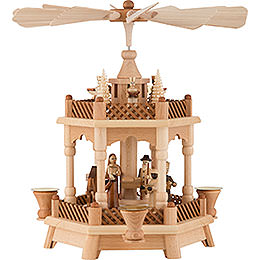 2 - Tier Pyramid  -  Nativity  -  32cm / 13 inch