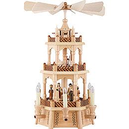 3 - stöckige Pyramide Christi Geburt  -  45cm