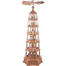 6 - Tier Pyramid  -  Nativity  -  165cm / 65 inch