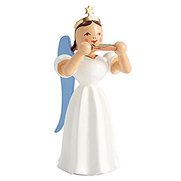 Angel Long Pleated Skirt Mouth Organ, Colored  -  6,6cm / 2.6 inch