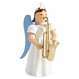 Angel Long Pleated Skirt Saxophone, Colored  -  6,6cm / 2.6 inch