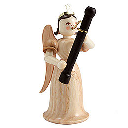 Angel Long Skirt with Bassoon, Natural  -  6,6cm / 2.5 inch